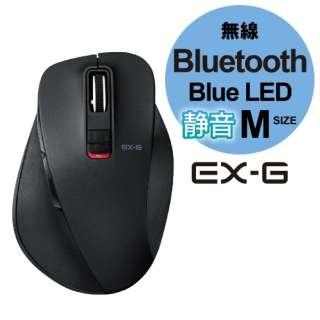 M-XGM10BBSBK マウス EX-G Mサイズ ブラック  [BlueLED /5ボタン /Bluetooth /無線(ワイヤレス)]