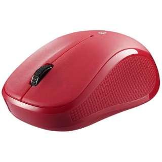 BSMBB21SRD タブレット対応 マウス BSMBB21Sシリーズ レッド  [BlueLED /3ボタン /Bluetooth /無線(ワイヤレス)]