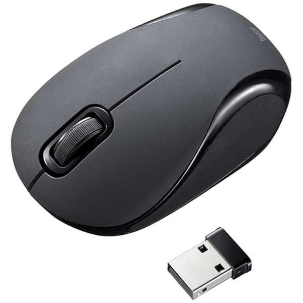 マウス ブラック MA-WBL36BK [BlueLED /無線(ワイヤレス) /2ボタン /USB]