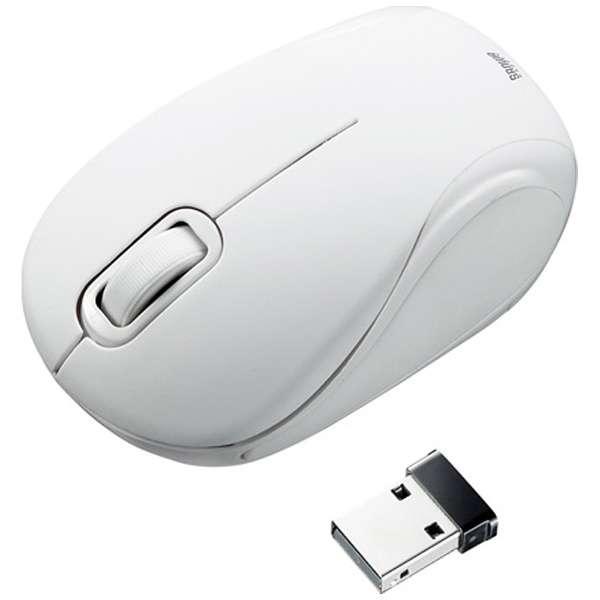 マウス ホワイト MA-WBL36W [BlueLED /無線(ワイヤレス) /2ボタン /USB]