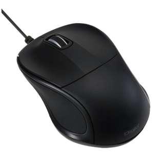 MUS-UKT110BK マウス Digio2 mini ブラック  [BlueLED /3ボタン /USB /有線]