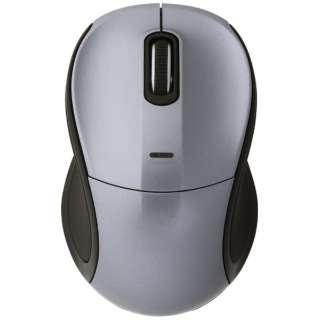 MUS-RKT109GY マウス Digio2 mini グレー  [BlueLED /3ボタン /USB /無線(ワイヤレス)]