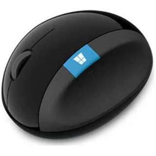 L6V-00013 マウス Sculpt Ergonomic Mouse ブラック  [BlueLED /4ボタン /USB /無線(ワイヤレス)]