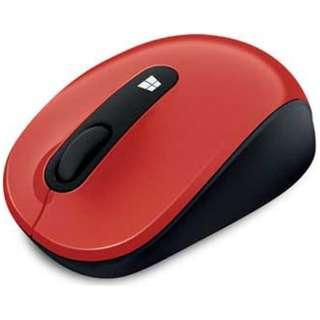 43U-00040 マウス Sculpt Mobile Mouse ファイヤーレッド  [BlueLED /3ボタン /USB /無線(ワイヤレス)]