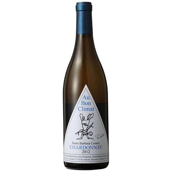 オー・ボン・クリマ シャルドネ 椿ラベル 750ml【白ワイン】