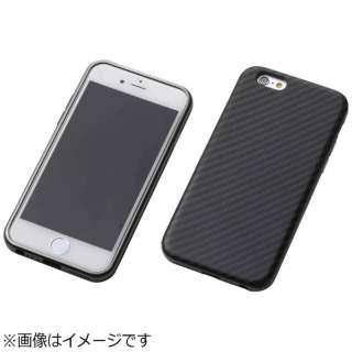 iPhone 6s/6用 Hybrid Case UNIO Kevler Black ケブラーブラック+アルミブラック DCS-IP6SAKVBK