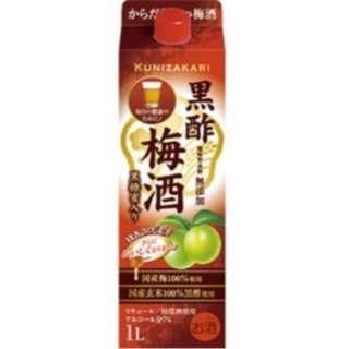 梅本家 黒酢梅酒 1000ml