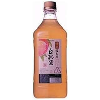 特撰果実酒房 福島産白桃酒  1800ml【リキュール】