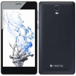 Priori3S LTE マットブラック「FTJ152B-PRIORI3S-BK」 Android 5.1・5型・メモリ/ストレージ:2GB/16GB microSIMx1 nanoSIMx1 SIMフリースマートフォン