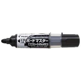 [ホワイトボードマーカー] ボードマスター 太字丸芯 ブラック WMBM-18BM-B