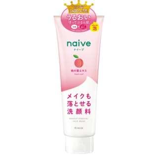 naive(ナイーブ) メイク落とし洗顔フォーム(桃の葉エキス配合) (200g) 〔洗顔料〕