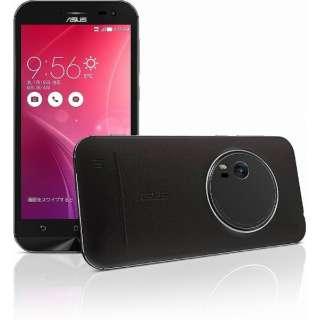 ZenFone Zoom プレミアムレザー ブラック「ZX551ML-BK128S4」 5.5型・メモリ/ストレージ:4GB/128GB microSIMx1 ドコモ/Ymobile SIM対応 SIMフリースマートフォン