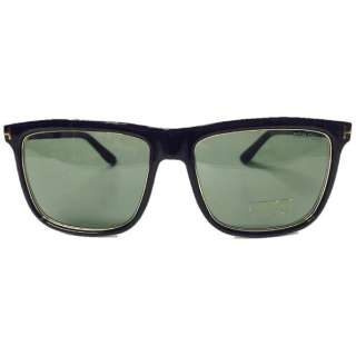 87a538fe9d69 TOM FORD Sunglasses KARLIE (shiny black   Green) FT0392-F 01N