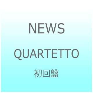 NEWS/QUARTETTO 初回盤 【CD】 【外装不良品】