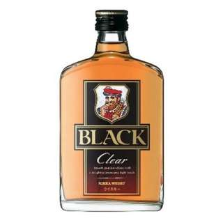 ブラックニッカ クリア ポケット瓶 180ml【ウイスキー】