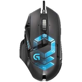 G502RGB ゲーミングマウス Gシリーズ ブラック  [光学式 /12ボタン /USB /有線]