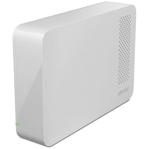 HD-LC1.0U3-WHE 外付けHDD ホワイト [据え置き型 /1TB]