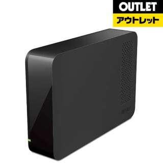 【アウトレット品】 外付ハードディスク 3TB[USB3.0・Mac/Win] HD-LCU3-Eシリーズ ブラック HD-LC3.0U3-BKE 【外装不良品】