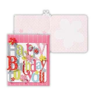 [グリーディングカード] 抜き文字・バースデー 誕生お祝いカード EAP-622-619