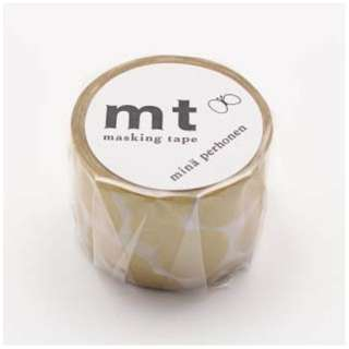 mtマスキングテープ ×ミナペルホネン soda water・gold    MTMINA32