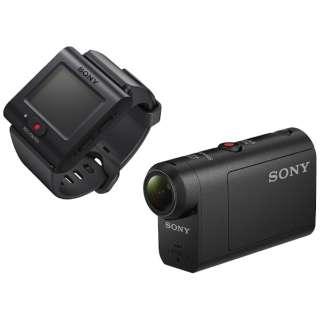 HDR-AS50R アクションカメラ ライブビューリモコンキット [フルハイビジョン対応 /防水+防塵+耐衝撃 /電子式(アクティブイメージエリア方式、アクティブモード搭載)]