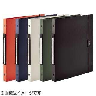 [ファイル] SMART FIT 2タイプポケットクリヤーブック交換式 (色:オレンジ、規格:A4タテ型(S型) 30穴) N-7520-4