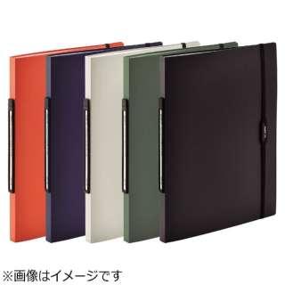 [ファイル] SMART FIT 2タイプポケットクリヤーブック (色:オレンジ、サイズ:A4タテ型(S型)) N-7510-4