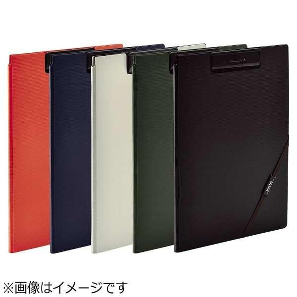 [ファイル] SMART FIT クリップファイル (色:ブラック、サイズ:A4) F-7560-24