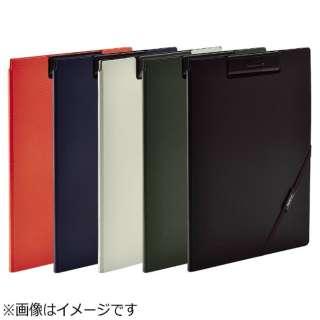 [ファイル] SMART FIT クリップファイル (色:オレンジ、サイズ:A4) F-7560-4