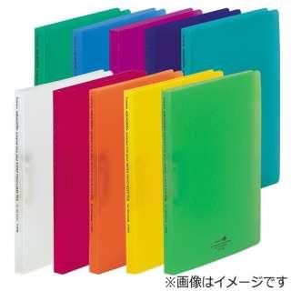 [ファイル] AQUA DROPs スーパーパンチレスファイル (色:橙、規格:A4タテ型(S型)) F-5030-4