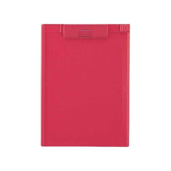 [クリップボード] クリップボード (色:赤、規格:A4タテ型(E型)) A-977U-3