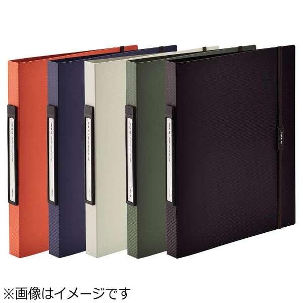[ファイル] SMART FIT リングファイル<ツイストリング> (色:オレンジ、規格:A4タテ型(S型) 2穴) F-7540-4