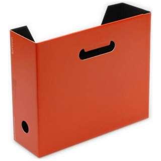 [ケース] EDC A4 ファイルボックス SOLID3(ソリッド3) (色:D.オレンジ(ミモレットチーズ)) SLD3-51-12