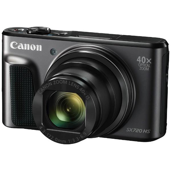 (ブラック) Canon (パワーショット) SX720 (送料無料) コンパクトデジタルカメラ PowerShot HS