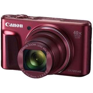 PSSX720HS コンパクトデジタルカメラ PowerShot(パワーショット) レッド