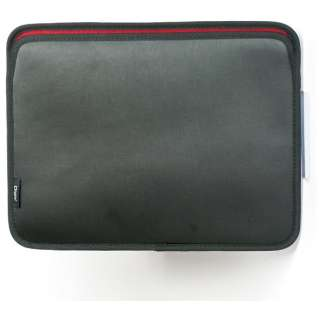 MacBook 12インチ用 スリップインケース ヨコ入れタイプ ブラック SZC-MBY2103BK