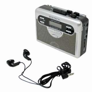 ポータブルカセットレコーダー WINTECH PCT-11R [ラジオ機能付き]