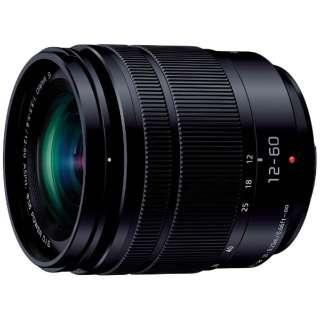 カメラレンズ LUMIX G VARIO 12-60mm/F3.5-5.6 ASPH./POWER O.I.S. LUMIX(ルミックス) ブラック H-FS12060 [マイクロフォーサーズ /ズームレンズ]
