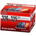 INK-C326+325-5PNA 互換プリンターインク 5色