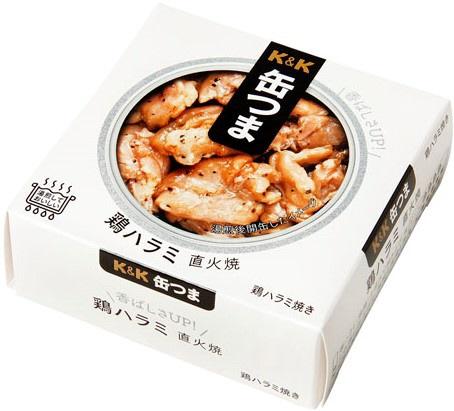 缶つま ホルモン 鶏ハラミ 直火焼 60g【おつまみ・食品】