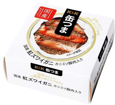 缶つま プレミアム 紅ズワイガニ カニミソ脚肉入り 60g【おつまみ・食品】