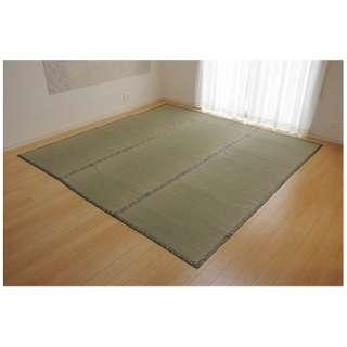 ラグ い草 糸引織 「湯沢」(185×185cm/ナチュラル)【日本製】