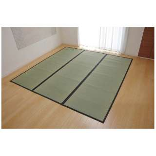 ラグ い草 麻綿織 「清正」(352×352cm/ナチュラル)【日本製】
