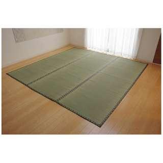 ラグ い草 双目織「松」(176×176cm/ナチュラル)【日本製】