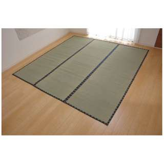 ラグ い草 糸引織 「立山」(440×352cm/ナチュラル)【日本製】