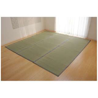 ラグ い草 糸引織 「柿田川」(382×382cm/ナチュラル)【日本製】