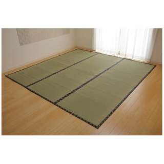 ラグ い草 糸引織 「梅花」(352×352cm/ナチュラル)【日本製】