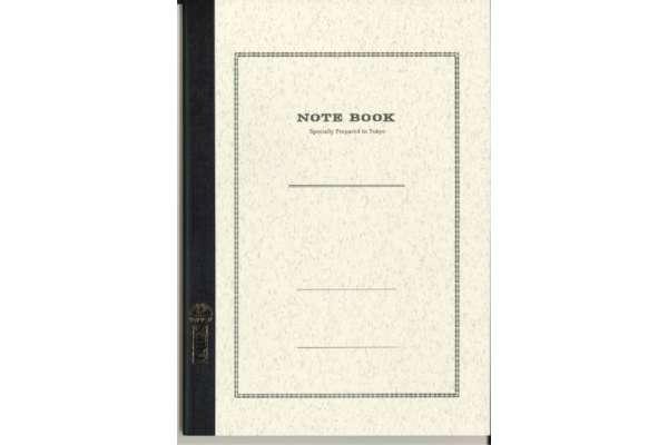 ノートのおすすめ ツバメノート「クリームノート」(糸綴じ/A罫/B5)