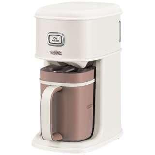 ECI-660 コーヒーメーカー Purezza バニラホワイト