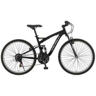 26型 マウンテンバイク CHEVROLET AL-ATB2618EX(ブラック) 14184-01 【組立商品につき返品不可】